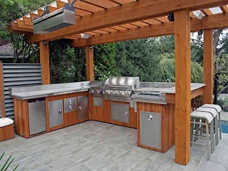 Outdoor Kitchen Grill Covers S Homes Ideas Design How One Can Set