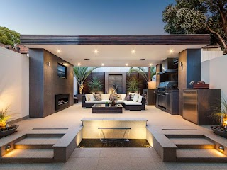 Outdoor Kitchen Areas 30 Fresh and Modern S
