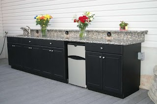 Polymer Cabinets for Outdoor Kitchens How to Build Kitchen The New Way Home Decor