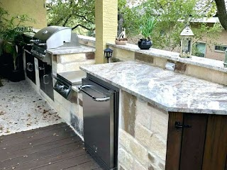 Simple Outdoor Kitchens Diy