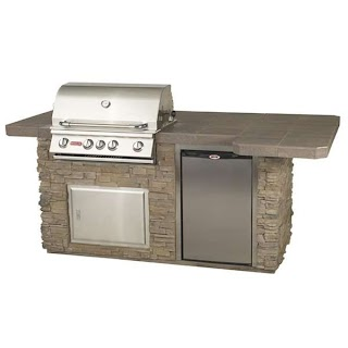 Bull Outdoor Kitchens Powerbbq Grilling Island Woodlanddirectcom