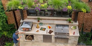 The Outdoor Kitchen My Ideal Home