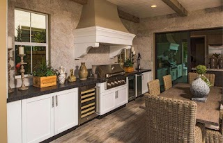 Luxury Outdoor Kitchens Stainless Steel Cabinets Danver