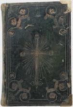 """Carte religioasa """"Acatistul Preasfintei Nascatoare de Dumnezeu"""", 1838, Romania"""