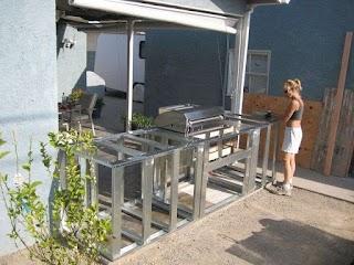 Prefab Outdoor Kitchen Frames Resplendent Frame Plans with Minimalist Steel