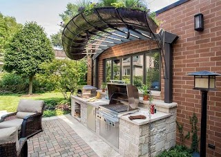 Outdoor Kitchen Pergola Ideas 31 Amazing