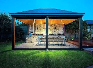 Outdoor Kitchen Designer Design View in Gallery Gorgeous Lighting Takes Over
