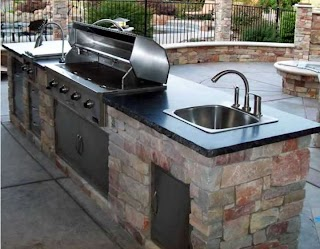 Sink for Outdoor Kitchen Expert Masonry and Contractors