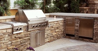 Outdoor Kitchen Concrete Countertops Design Ideas and Pictures The