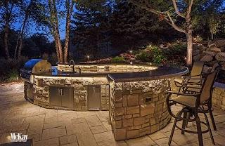 Outdoor Kitchen Lighting Grill Ideas