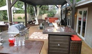 Indoor Outdoor Kitchen Ideas Images Photo