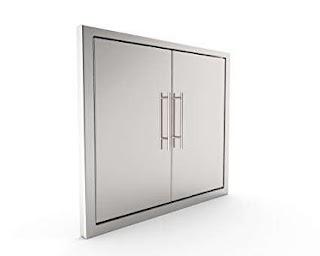 Outdoor Kitchen Access Doors Amazoncom Bbq Grill Doorelegant 31 inch 304 Grade