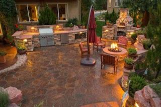 Outdoor Kitchen with Firepit 12 Gorgeous S Hgtvs Decorating Design Blog Hgtv