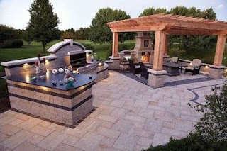 Outdoor Kitchens Fort Worth Dallas Cooking Area Custom