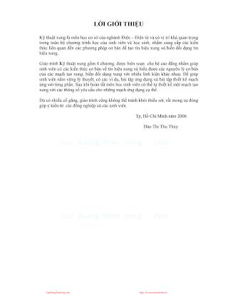 Giáo Trình Kỹ Thuật Xung - Ths. Đào Thị Thu Thủy, 68 Trang.pdf