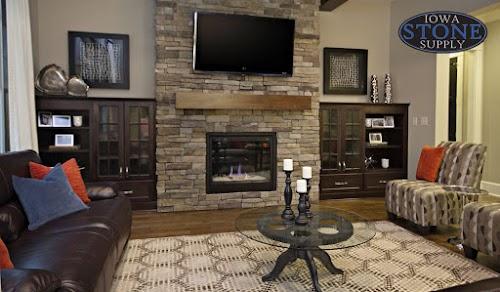Eldorado Sierra Mountain Ledge Fireplace Sample Fireplace 001
