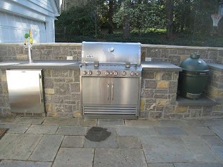 Outdoor Kitchen Kegerator S and Grills Patio Atlanta By Paverstone