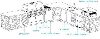 Outdoor Kitchen Floor Plans Kalamazoo Gourmet