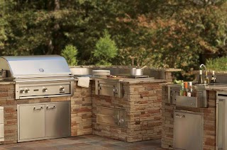 Cheap Outdoor Bbq Kitchens Affordable Making Entertainment Affordable