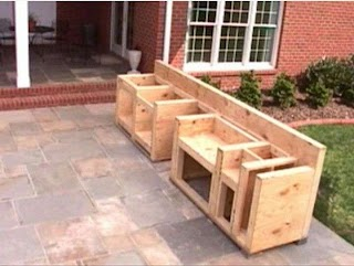How to Make Outdoor Kitchen Cabinets DIY Simple Cabinet