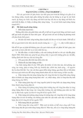 ĐHBK.Giáo Trình Cơ Sở Kỹ Thuật Điện 1 - Nhiều Tác Giả, 318 Trang.pdf