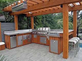 Outdoor Bbq Kitchen Ideas Thinking Through Your Designs Eva Furniture