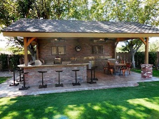 Best Outdoor Kitchen Designs Awesome Ideas on a Budget Country Ideas