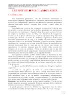 Polycopié (Glandes Exocrines).pdf