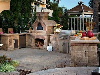 Belgard Outdoor Kitchens Kitchen Home Projects Empire Stone Company