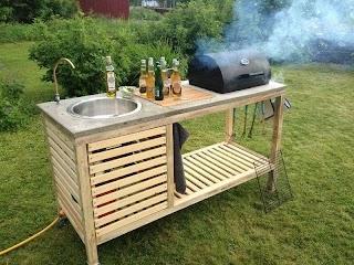 Portable Outdoor Kitchen Islands Island DIY Modern Home Design