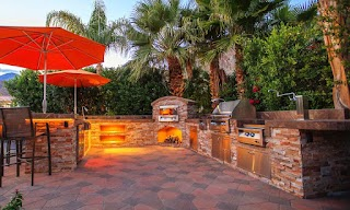 Custom Outdoor Kitchen Concepts S in Palm Desert Palm Springs