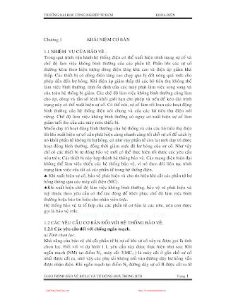 ĐHCN.Giáo Trình Bảo Vệ Rơ Le Và Tự Động Hóa Trong Hệ Thống Điện - Nhiều Tác Giả, 126 Trang.pdf