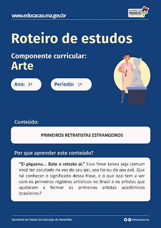 PRIMEIROS RETRATISTAS ESTRANGEIROS NO BRASIL