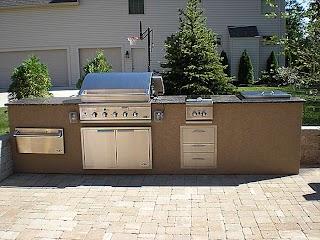 Stucco Outdoor Kitchen Architecture Qarninewscom