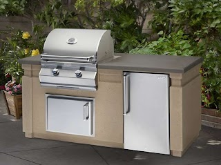 Fire Magic Outdoor Kitchen Choice Grill Island Package Fines Gas