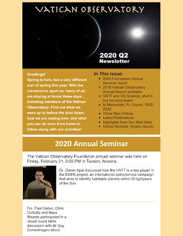2020 Q2 Foundation Newsletter