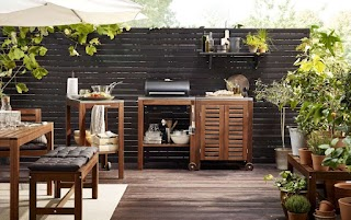 Outdoor Kitchen Cabinets IKEA Take Your S This Summer