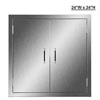 Outdoor Kitchen Access Doors Amazoncom Coz 304 Brushed Stainless Steel