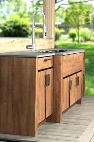 Outdoor Kitchen Cabinet Doors Phenomenal Wood