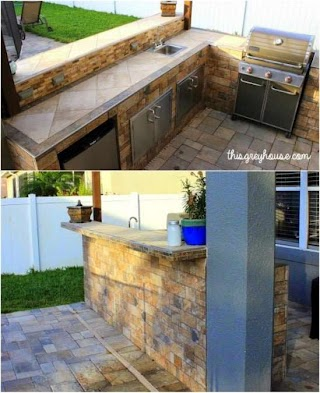 Outdoor Kitchen Tile 15 Amazing DIY Plans You Can Build on a Budget Diy