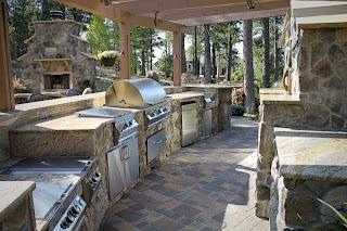 Built in Outdoor Kitchens Kitchen Contractors Colorado Sprgs Bbq