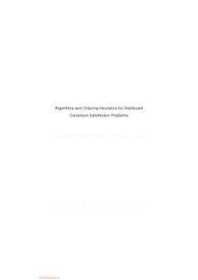 1848215940 {1507BB49} Algorithms and Ordering Heuristics for Distributed Constraint Satisfaction Problems [Wahbi 2013-07-10].pdf