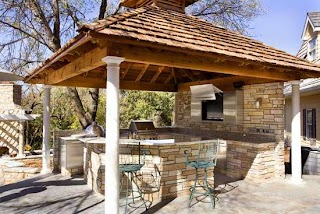 Outdoor Kitchen Structures Cover It up 4 Types of Covers
