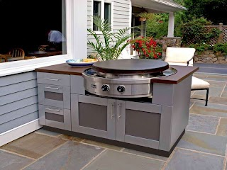 Outdoor Kitchen Home Depot Cabinets Especially for Summer The New Way Decor