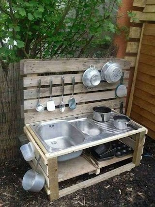 Kids Outdoor Kitchen 20 Mud Ideas for Garden Ideas Little Girls