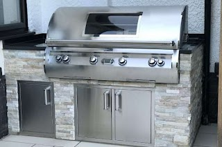 Premium Outdoor Kitchens Built in Bbqs By Fire Magic