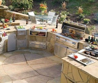 Outdoor Kitchen Planner Plans Faucet H Sink Faucet I