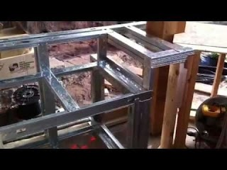 How to Frame an Outdoor Kitchen Building Build With