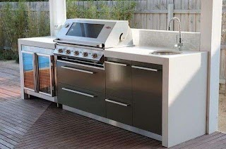 Melbourne Outdoor Kitchen Concepts Garden Pinterest Cocina