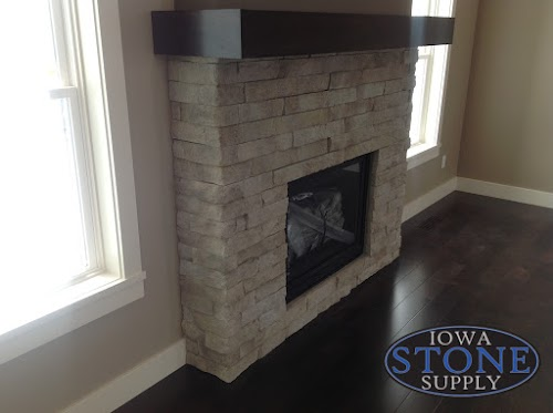 Eldorado Birch Ledgecut33 Fireplace 001